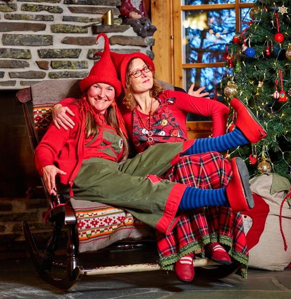 Get to know Santa's elves