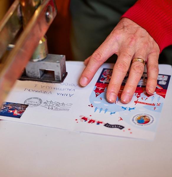 Santa's address in the Arctic Circle