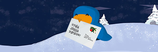Joulunpunaa ja läsnäoloa - näin Posti.fi on varautunut jouluun