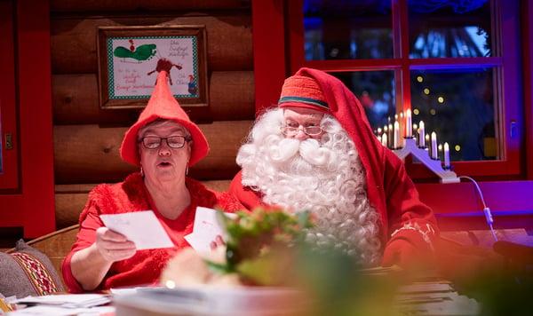 Joutuin joulupöytään - viime hetken kortit matkaan 21.12.